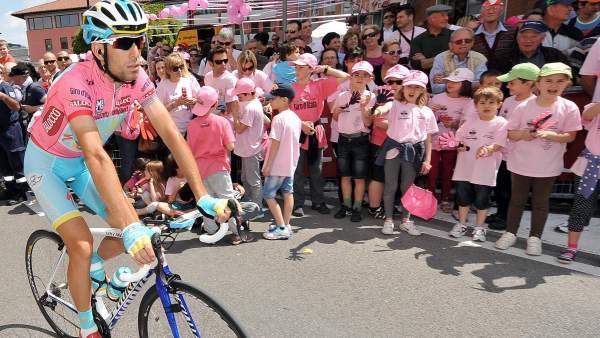 Vincenzo Nibali, de rosa