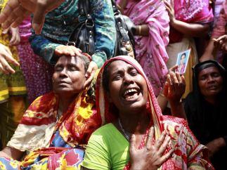 Derrumbe en Bangladés