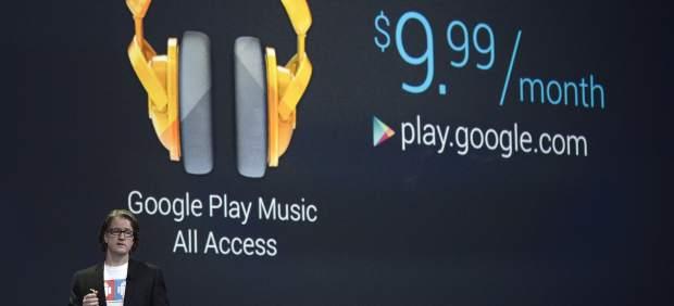 Google presenta un centro de juegos y un servicio de música como alternativa a 'Spotify'