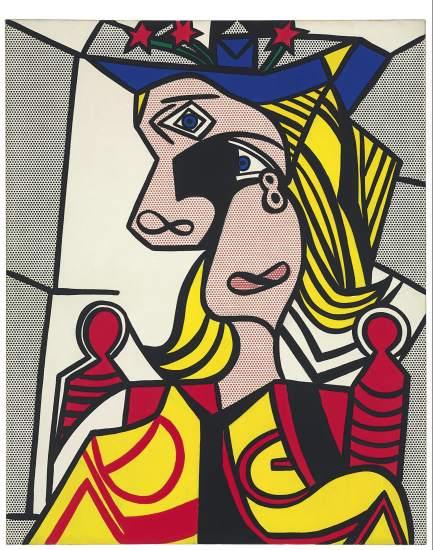 Cuadros de pollock lichtenstein y basquiat logran r cords - Roy lichtenstein cuadros ...