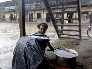 Ciclón 'Mahasen' (Bangladés)