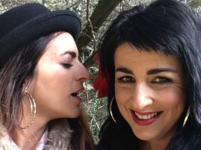 Amparo Sánchez y Bebe