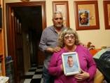 Los padres de Sandra Palo