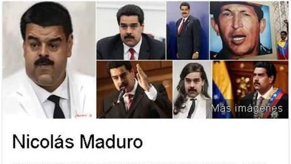 Google retira la imagen distorsionada del presidente de Venezuela, Nicolás Maduro