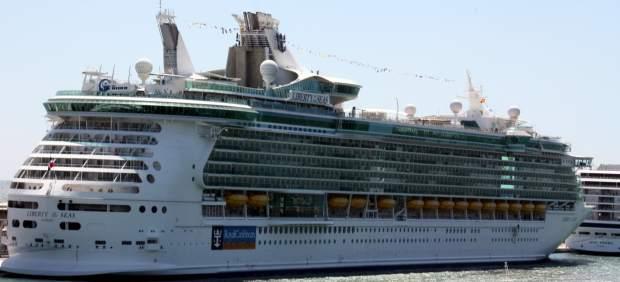 El crucero Liberty of the Seas, establecido en Barcelona