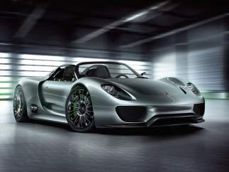 Porsche 918 Spyder h�brido enchufable 2013