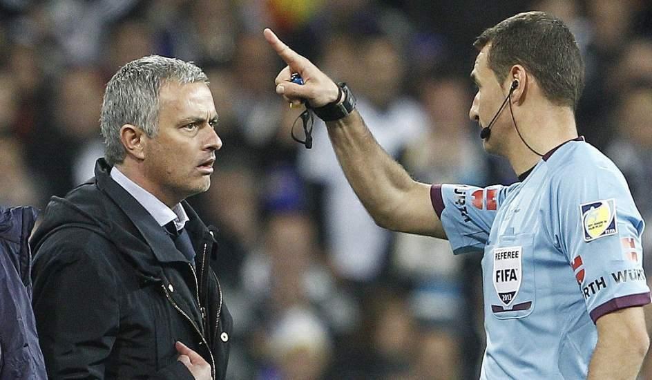 José Mourinho, expulsado