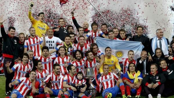 El Atlético, campeón de Copa