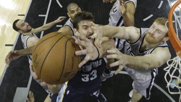 Grizzlies-Spurs