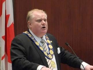 Rob Ford, alcalde de Toronto
