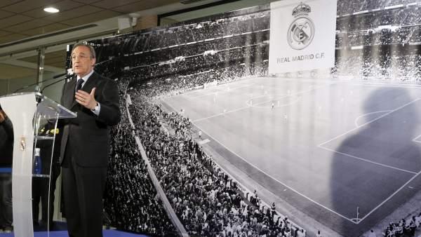 Florentino anuncia que Mourinho no seguirá en el Real Madrid