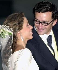 Alejandro Agag, el día de su boda con Ana Aznar.