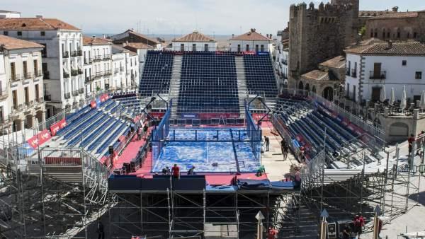 Cáceres, la ciudad del pádel del 21 al 26 de mayo