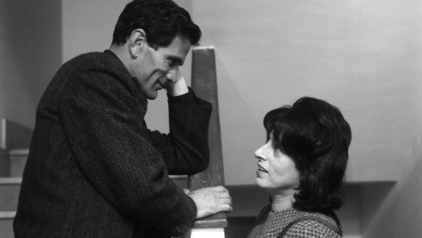 Pasolini y Ana Magnani