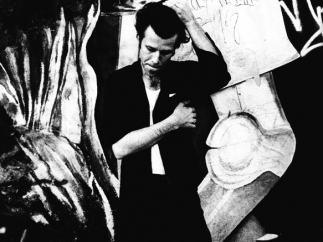 'Tom Waits by Anton Corbijn, Downtown Los Angeles, 1983'