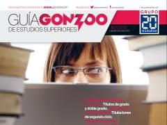 Portada de la guía de universidades y estudios superiores de Gonzoo