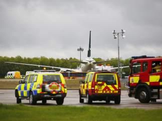 Incidente en Stansted