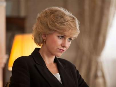 Naomi Watts como Lady Di