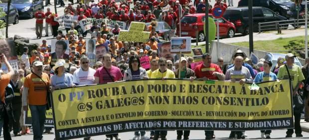 "Feijóo abandona aos galegos para favorecer un modelo industrial ""colonial"" convertendo a ciudadanía en verdadeiros exclavos da antiguedad."