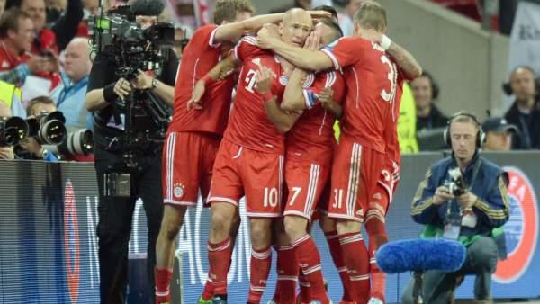 Un gol de Robben en el minuto 88 le da la quinta Champions League al Bayern de Múnich (2-1)