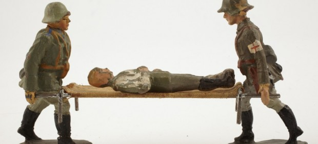 Toy soldier set German army medical service 1936