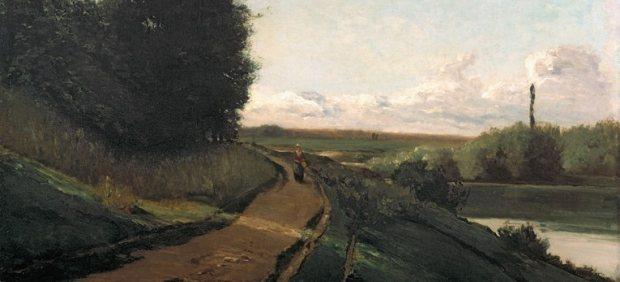 'Las orillas del Marne', 1864