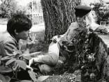 David Bailey and Catherine Deneuve, Normandy, 1965