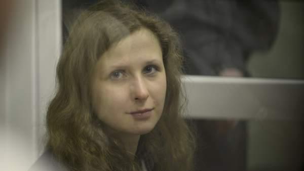 Maria Alyokhina, de las Pussy Riot