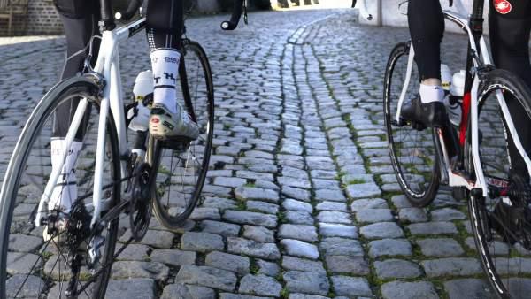 Muros empedrados del Tour de Flandes