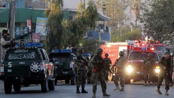 Ataque suicida en Afganistan