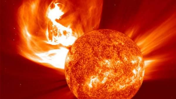 Resultado de imagen para tormenta solar