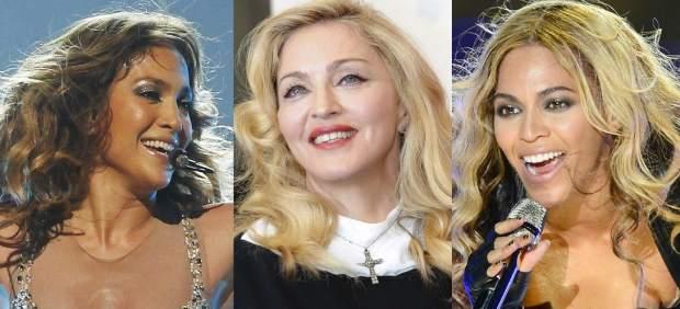 Jennifer Lopez, Madonna y Beyoncé