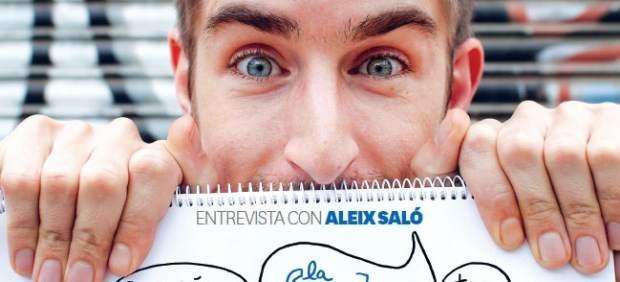 Aleix Saló, en la portada de 'el mensual'