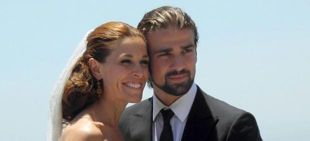 Raquel S�nchez Silva y mario Biondo