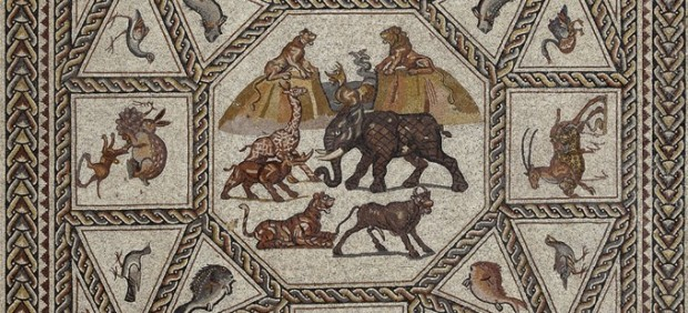'The Mosaic of Lod' - detail