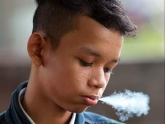 Fumador adolescente