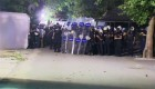 Disturbios en un parque de Estambul