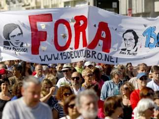 Lisboa no quiere a la troika
