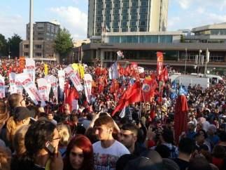 Protesta en Taksim