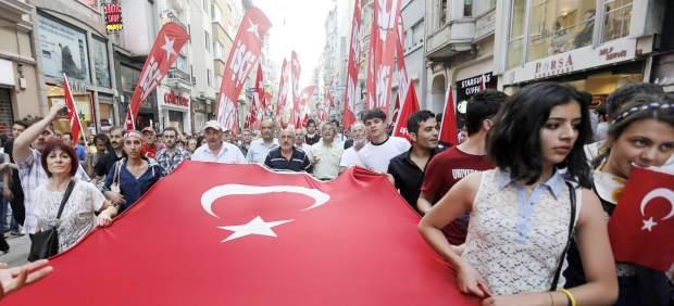 Protestas en Turqu�a