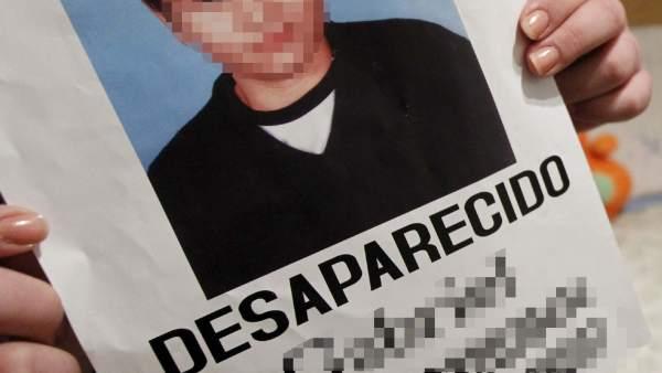 Menor desaparecido