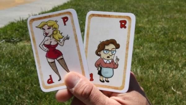 la puta juego cartas