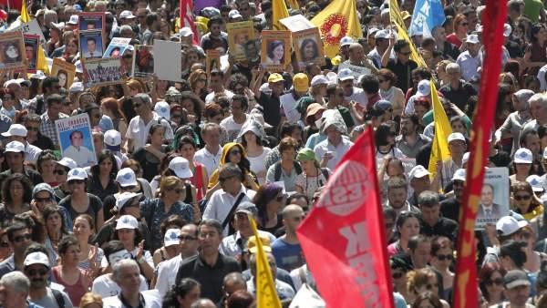 Continúan las protestas en Turquía