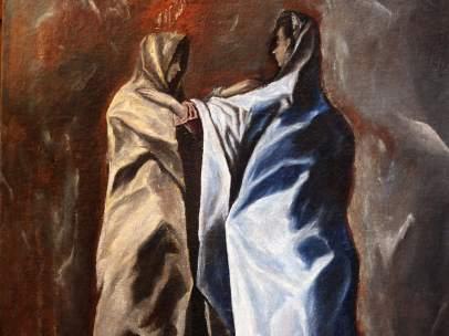 La 'Visitación' inédita de El Greco
