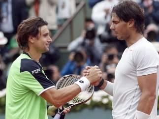 David Ferrer y Rafa Nadal