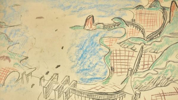 Urban plan for Rio de Janeiro. 1929