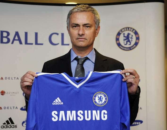 Mourinho se presenta como entrenador del Chelsea
