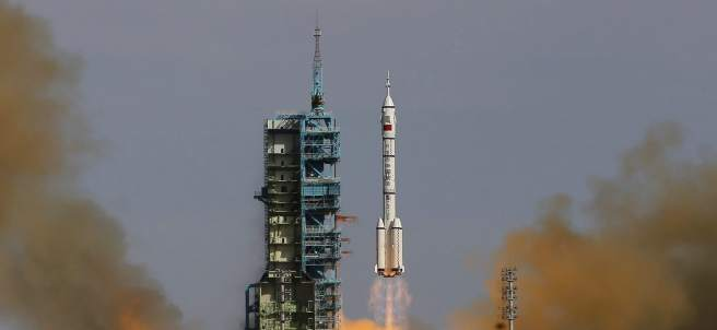 Misión china en el espacio