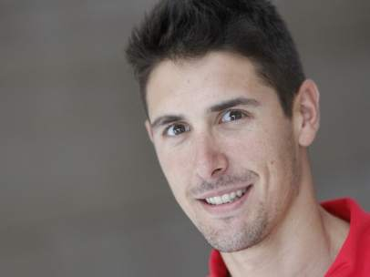 El triatleta José Miguel Pérez