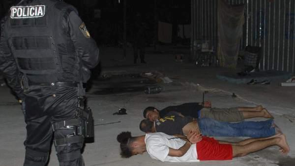Terroristas detenidos en Barcelona